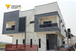 3 bedroom Semi Detached Duplex House for sale Vantage Court, Inside Richland Gardens, Opposite Beechwood Estate Bogije Sangotedo Lagos