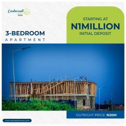 3 bedroom Terraced Duplex House for sale Inside abijo Gra, 4 minute drive sangotedo Free Trade Zone Ibeju-Lekki Lagos