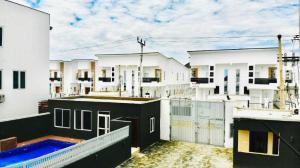 Terraced Duplex House for shortlet ... Osapa london Lekki Lagos