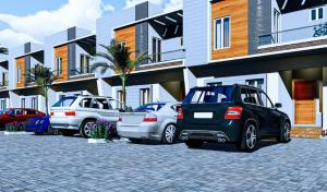 3 bedroom Terraced Duplex House for sale The Estate Is Situated At Lekki Scheme 2, Less Than Minutes Drive From Abraham Adesanya Roundabout, Ajah, Eti Osa, Lagos. Lekki Scheme 2 Ajah Lagos