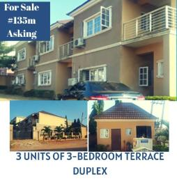 3 bedroom Terraced Duplex House for sale Durumi District  Durumi Abuja