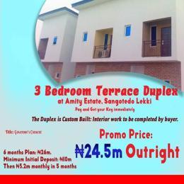 Terraced Bungalow House for sale Sangotedo Ajah Lagos