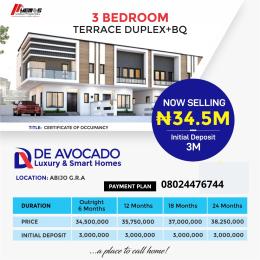 3 bedroom Terraced Duplex House for sale GRA Abijo Ajah Lagos