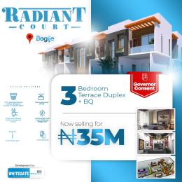 3 bedroom Terraced Duplex House for sale Desa, Bogije. 20 Seconds Drive From Lekki Epe Express Bogije Sangotedo Lagos