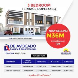 3 bedroom Terraced Duplex for sale Abijo Gra Lekki Lagos
