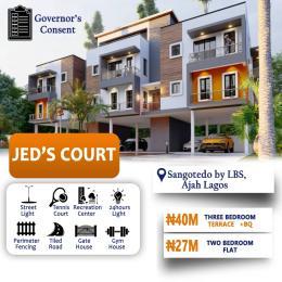 Terraced Duplex House for sale JED's Court Opposite Lagos Business School  Graceland Estate Ajah Lagos