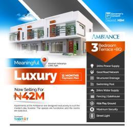 3 bedroom Terraced Duplex for sale Abraham Adesanya By Atlantic Layout Estate Abraham adesanya estate Ajah Lagos