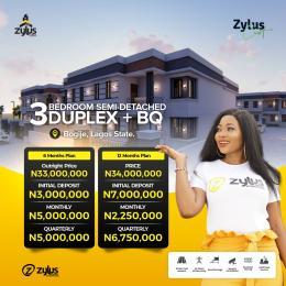 3 bedroom Terraced Duplex for sale Bogije, Ibeju Lekki Richland Estate Lekki Lagos