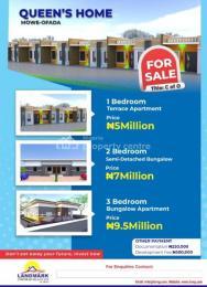 3 bedroom Terraced Bungalow House for sale ... Mowe Obafemi Owode Ogun