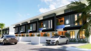 Terraced Duplex House for sale Omole phase 2 extension beside Omole 2 sharing boundary with  Magodo phase 2 Shangisha, Lagos state, Nigeria. CMD Road Kosofe/Ikosi Lagos