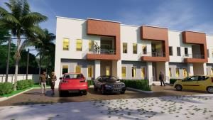 3 bedroom Terraced Duplex House for sale The new tarred Road that connects to Kabusa Junction Apo Abuja