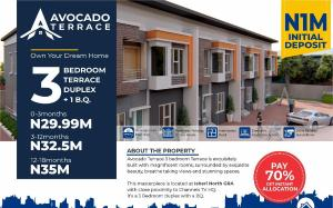 3 bedroom Terraced Duplex House for sale Avocado Terraces, OPIC Isheri North Isheri North Ojodu Lagos