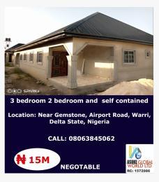 House for sale Near Gemstone ,Airport road,Warri Delta State Warri Delta