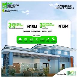 3 bedroom Detached Bungalow for sale Ido Community Ibadan north west Ibadan Oyo