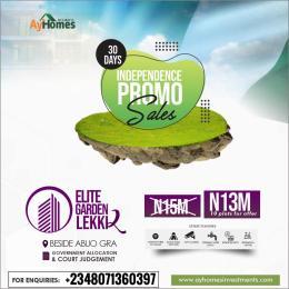 Mixed   Use Land for sale Beside Abijo Gra Abijo Ajah Lagos