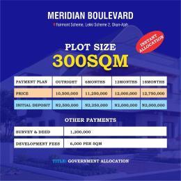 Mixed   Use Land Land for sale Meridian Boulevard Abraham adesanya estate Ajah Lagos
