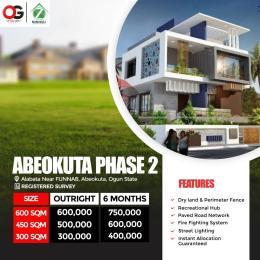 Land for sale Alabata Abeokuta Ogun