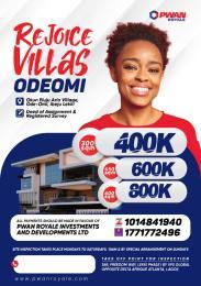 Residential Land for sale Okun Eluju Arin Village, Ode Omi, Ibeju-Lekki Lagos