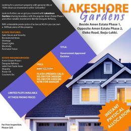 Mixed   Use Land Land for sale Opposite Amen Estate Phase 2, Eleko Beach Rd Lekki Phase 2 Lekki Lagos