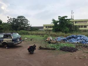 Industrial Land Land for sale Promassidor Bus stop after Iyana-isolo Bridge OShodi-apapa Expressway Oshodi Expressway Oshodi Lagos