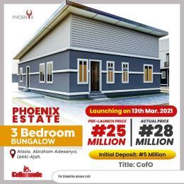 3 bedroom Semi Detached Bungalow House for sale Alasia, Abraham Adesanya, Ajah. Abraham adesanya estate Ajah Lagos