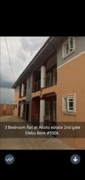 3 bedroom Blocks of Flats for rent Akoto Estate 2nd Gate Elebu Ibadan Akala Express Ibadan Oyo