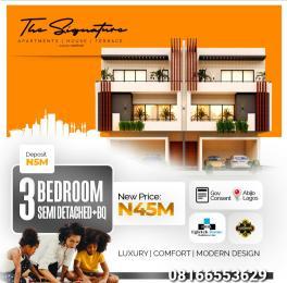 Semi Detached Duplex House for sale Abijo Ajah Lagos
