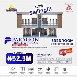 3 bedroom Semi Detached Duplex for sale Inside Meridian Boulevard Estate, Okun Ajah, Abraham Adesanya Roundabout Lekki Scheme 2 Ajah Lagos