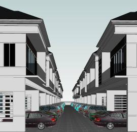 4 bedroom Terraced Duplex House for sale Imperial Oaks Estate, Orchid Road. 2Mins Drive From Lekki-Epe Expressway. Lekki Lagos