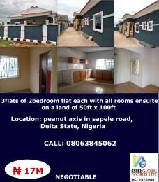 House for sale peanut axis along Sapele road Delta state Nigeria Sapele Delta