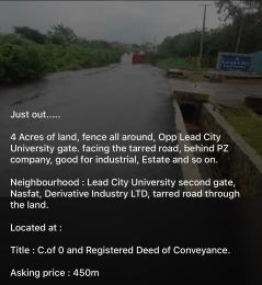 Mixed   Use Land Land for sale Opposite Lead City University 2nd gate Soka Ibadan Oyo