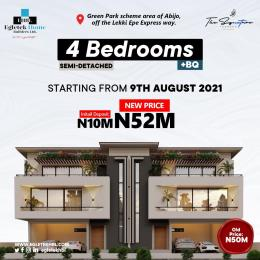 4 bedroom House for sale Signature Terrace Homes And Apartment With C Of O At Lekki Abijo Ajah Lagos