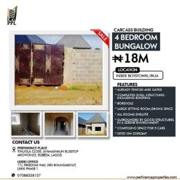 4 bedroom Terraced Bungalow House for sale Boys Town Ipaja Lagos