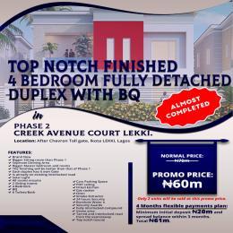 4 bedroom Detached Duplex House for sale Chevron Alternative Drive Ikota Lekki Lagos