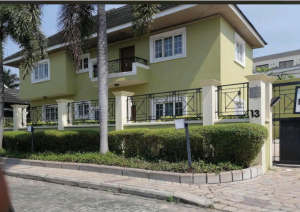 4 bedroom Detached Duplex House for rent - Abacha Estate Ikoyi Lagos