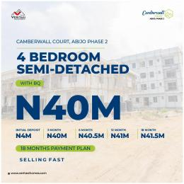 5 bedroom Semi Detached Duplex House for sale Abijo Ajah Lagos