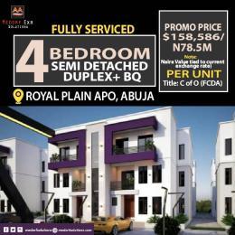Detached Duplex for sale 5 Minutes Before Apo Shoprite Mall Apo Abuja