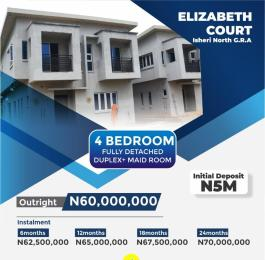 4 bedroom Detached Duplex House for sale Queens garden Estate Isheri North Ojodu Lagos