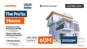 4 bedroom Detached Duplex House for sale Ibeju-Lekki Lagos
