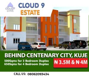 4 bedroom Residential Land Land for sale Behind Centenary City Kuje Abuja