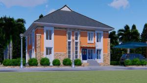 Detached Duplex House for sale beside the international airport, Omagwa, Port Harcourt Port Harcourt Rivers