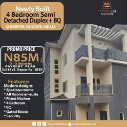 4 bedroom Semi Detached Duplex for sale Very Close To Asokoro, Guzape Abuja