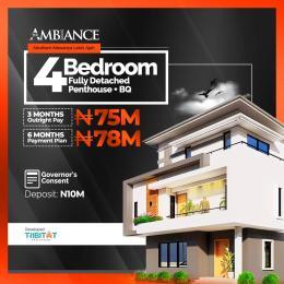 4 bedroom Detached Duplex for sale Atlantic Layout Estate,general Paint Bustop Ajiwe Ajah Lagos