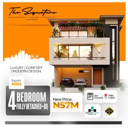 4 bedroom Detached Duplex for sale Sunday Ejiofor Street, Green Park Scheme Opposite Corona School Abijo Lekki Lagos Abijo Ajah Lagos