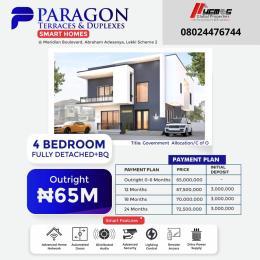 4 bedroom Detached Duplex for sale Okun Ajah Ajah Lagos