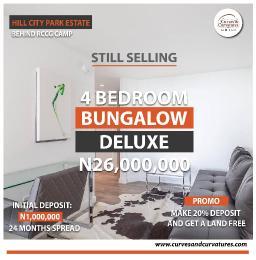 4 bedroom Detached Bungalow for sale Off Simawa Road After Rccg New Auditorium Mowe Obafemi Owode Ogun