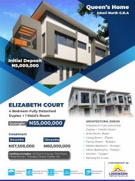 4 bedroom Detached Duplex House for sale Isheri north GRA,lagos  Isheri North Ojodu Lagos