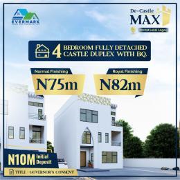 4 bedroom Detached Duplex House for sale De Castle Max chevron Lekki Lagos