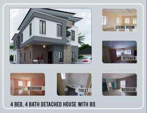 4 bedroom Detached Duplex House for sale *4 Bedroom Fully Detached Duplex In Amen Estate Phase Ii, Eleko, Ibeju Lekki, Lagos Eleko Ibeju-Lekki Lagos