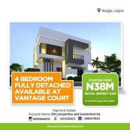 4 bedroom Detached Duplex House for sale Vantage Court, Inside Richland Gardens Bogije Sangotedo Lagos